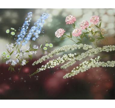 Sumiko Seki - Ruby Garden - Courtesy of TAG Fine Arts