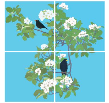 Robin Duttson - The Apple Tree courtesy of TAG Fine Arts