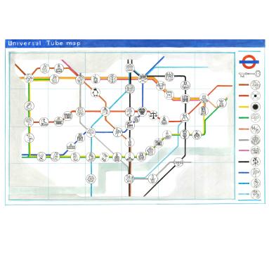 The Universal London Underground Map