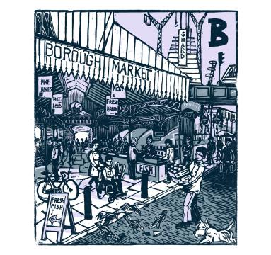 Tobias Till - B - Borough Market - Courtesy of TAG Fine Arts