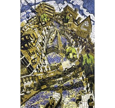 Tobias Till - Camden Lock - Courtesy of TAG Fine Arts