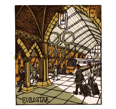 Tobias Till - E - Eurostar - Courtesy of TAG Fine Arts