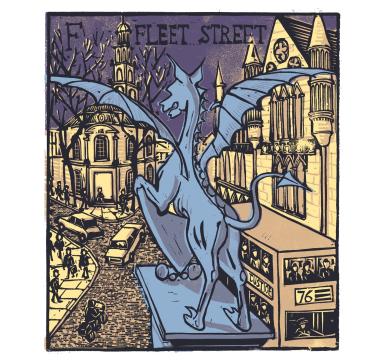Tobias Till - F - Fleet Street Courtesy of TAG Fine Arts