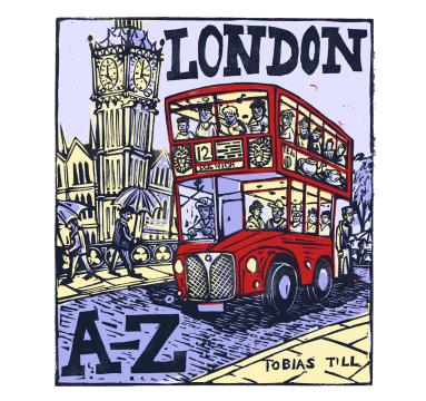 Tobias Till - London A-Z Catalogue Cover courtesy of TAG Fine Arts