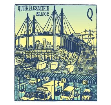 Tobias Till - Q - Queen Elizabeth II Bridge - Courtesy of TAG Fine Arts