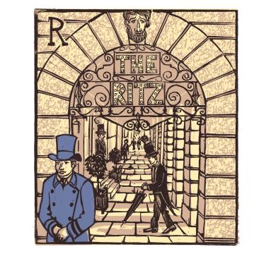 Tobias Till - R - The Ritz - Courtesy of TAG Fine Arts