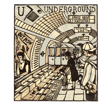 Tobias Till - U - Underground Courtesy of TAG Fine Arts