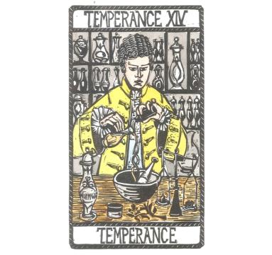 Tobias Till - XIV Temperance - courtesy of TAG Fine Arts