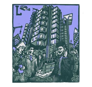 Tobias Till - L - Lloyds of London- Courtesy of TAG Fine Arts