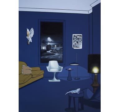 Vanessa Smith - Night Closes In - courtesy of TAG Fine Arts