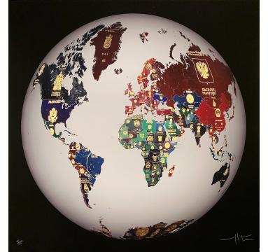 World Passport Globe