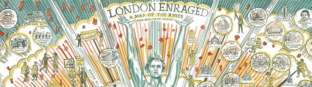 Adam Dant - London Enraged - courtesy of TAG Fine Arts