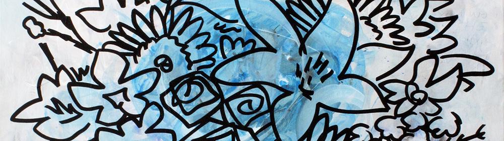 Jack Spiller - Flowers 17L4 - courtesy of TAG Fine Arts