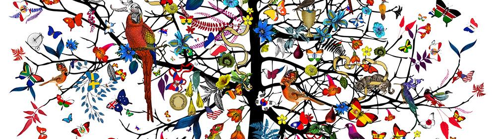 Kristjana S Williams - The International Tree - courtesy of TAG Fine Arts