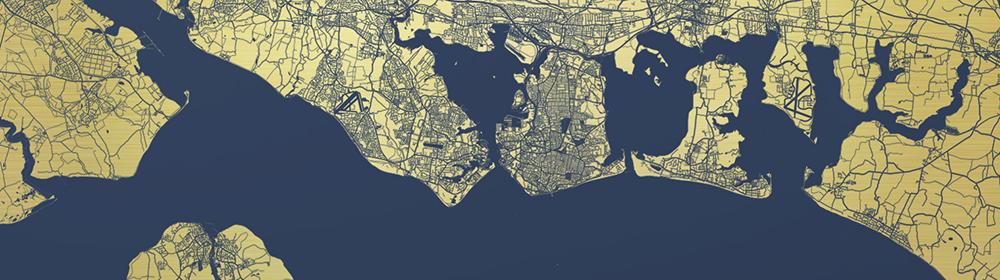 Ewan David Eason - Portsmouth Mappa Mundi America's Cup - courtesy of TAG Fine Arts