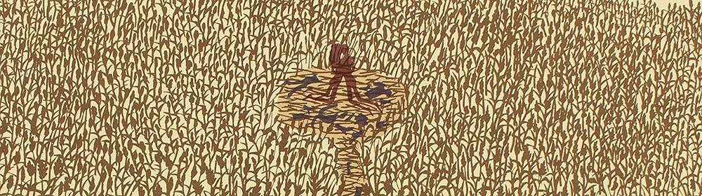 Rob Ryan - The Wheatfield Pictuer - courtesy of TAG Fine Arts