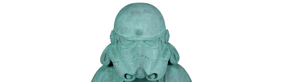 Ryan Callanan - Zen Trooper Copper Patina - courtesy of TAG Fine Arts