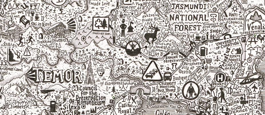 Stpehen Walter - Nova Utopia - courtesy of TAG Fine Arts