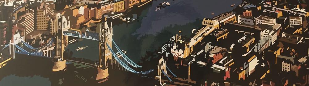 Alicia Dubnyckyj - Tower Bridge - courtesy of TAG Fine Arts