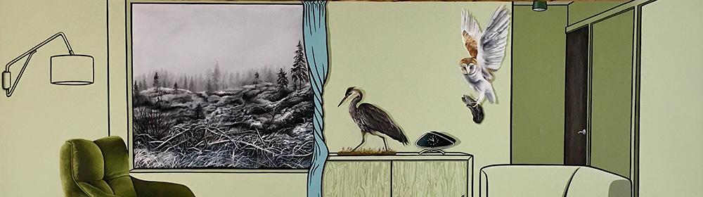 Vanessa Smith - Heron - courtesy of TAG Fine Arts