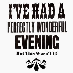 Kenny - A wonderful evening (Groucho Marx) courtesy of TAG Fine Arts