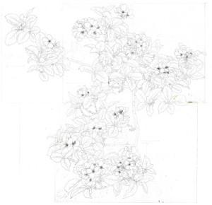 Duttson - The Apple Tree Original Drawing (web contrast)