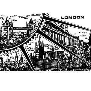 Bridgland - TREASURE (London Sun) courtesy of TAG Fine Arts