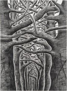 Donwood - Sanguine - courtesy of TAG Fine Arts