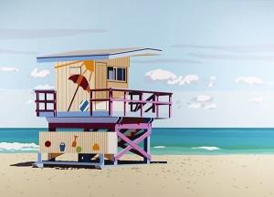 Will Martyr - Miami Beach Hut II - courtesy of TAG Fine Arts