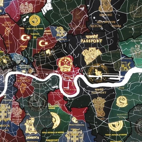 Exclusive Launch of Yanko Tihov's London Passport Map