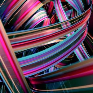 Chuck Elliott - Halcyon (deep pink)- Courtesy of TAG Fine Arts