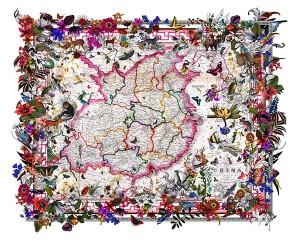 Kristjana S Williams - Kina in Bloom - courtesy of TAG Fine Arts