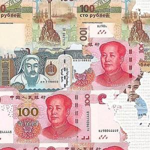 Money Map of the World - China