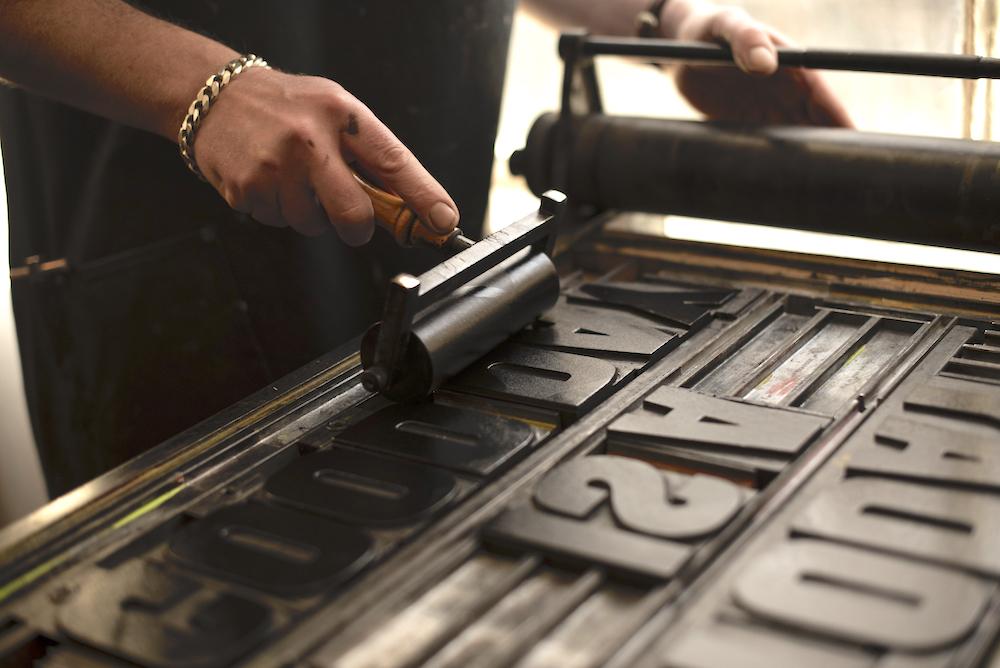 Stephen's letterpress