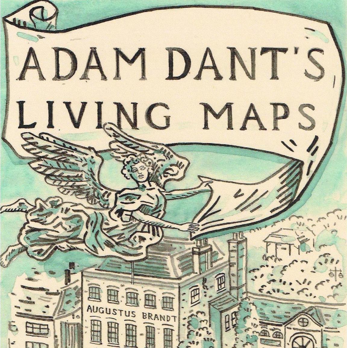 Adam Dant | Living Maps