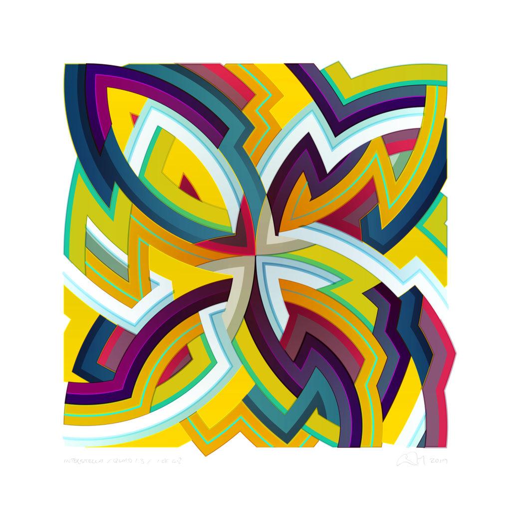 Chuck Elliott - interStella - Quad 1.3 - courtesy of TAG Fine Arts